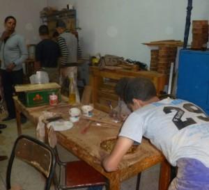 14-11-26_Arbeiten-in-der-Holzwerkstatt